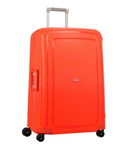 Samsonite S'Cure Spinner 75 fluo red capri