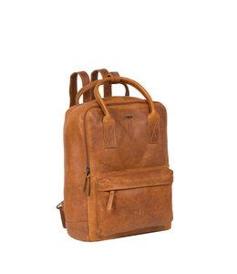 "Justified Bags Nynke 14"" laptoprugzak cognac"