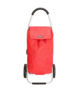 Beagles Alberic boodschappentrolley-winkelkarhaak rood