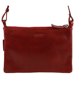 Saccoo Caracas Chato schoudertasje rood