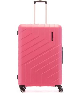 Line Brooks 75cm 4-wiel trolley dark pink
