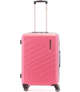 Line Brooks 65cm 4-wiel trolley dark pink