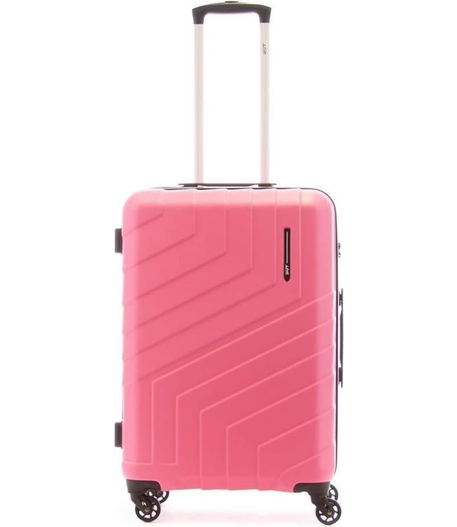 Line Brooks 65cm 4-wiel trolley dark pink
