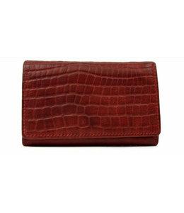 Bear Design Klassieke envelop damesportemonnee rood