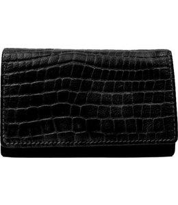 Bear Design Klassieke envelop damesportemonnee zwart