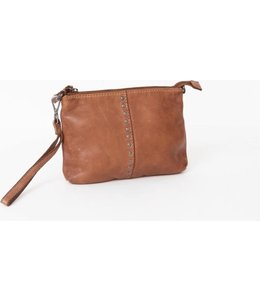 BAG2BAG Lucia schoudertasje-clutch brown