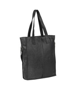 """Justified Bags Nynke 15"""" laptop shopper zwart"""