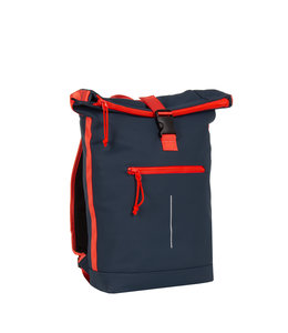 New Rebels Tim Rol 16L rugzak navy/red