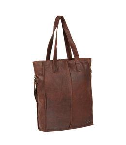 "Justified Bags Nynke 15"" laptop shopper bruin"