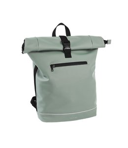 "Daniel Ray Leek Rolltop 17"" laptop-rugtas XL mint green"