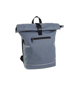 "Daniel Ray Jefferson Rolltop L 15.6"" laptop-rugtas soft blue"