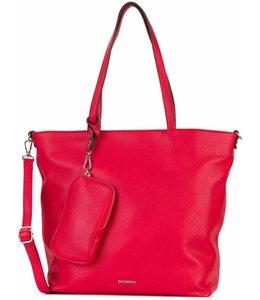 Emily & Noah 311 surprise Bag In Bag shopper rood