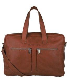 "Cowboysbag Kyle 15.6"" laptop-tas cognac"