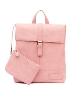 Zebra Trends Loiza Natural Bag rugtas pink
