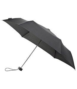 MiniMAX platte opvouwbare paraplu, windproof zwart