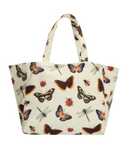 18128 strandtas vlinder print