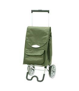 Secc Stockholm Boodschappen-trolley groen