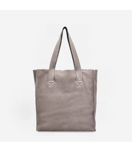 MYoMY My Paper Square shopper suede sand