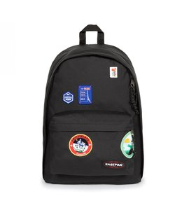 """Eastpak Out of Office 15"""" rugtas patched black"""