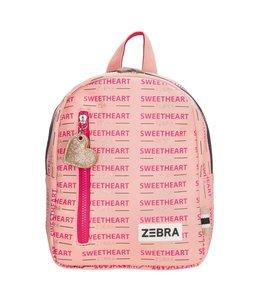 Zebra Trends Rugzak S girls  sweetheart