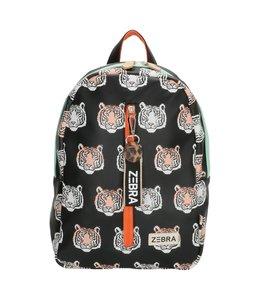 Zebra Trends Rugzak M tiger black