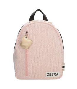 Zebra Trends Rugzak S sparkle pink