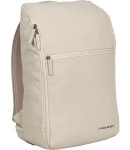 "New Rebels Harper 15.6"" laptop-rugtas Box beige"