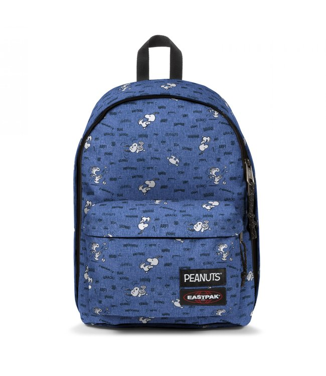 """Eastpak Out of Office 15"""" laptop-rugtas Snoopy-peanuts s"""