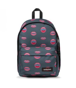 """Eastpak Out of Office 15"""" laptop-rugtas wall art mouth"""