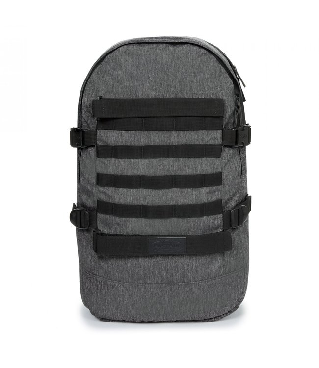 "Eastpak Floid Tact L 16"" laptop-rutas met skateboard-straps rip black"