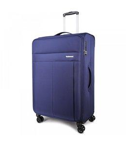Decent D-Upright 76cm reiskoffer expendable blauw