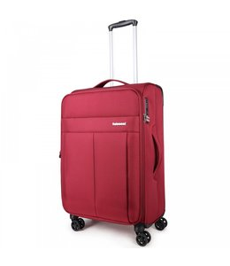 Decent D-Upright 66cm reiskoffer-trolley expendable rood