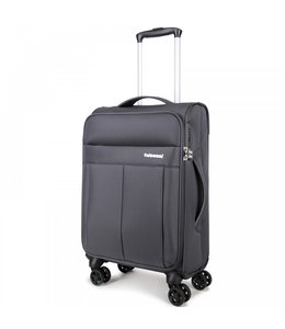 Decent D-Upright 55cm handbagage trolley grijs