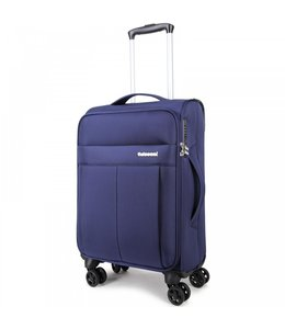 Decent D-Upright 55cm handbagage trolley blauw