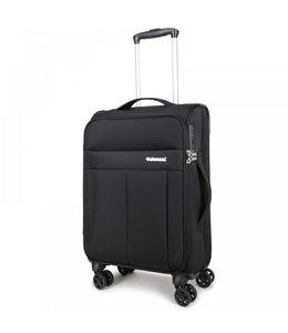 Decent D-Upright 55cm handbagage trolley zwart