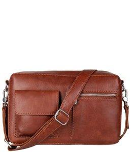 Cowboysbag Bag Rhue schoudertas cognac