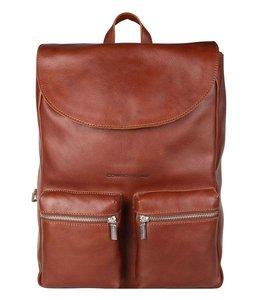 """Cowboysbag Backpack Reiff 13"""" laptop-rugtas cognac"""