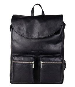 "Cowboysbag Backpack Reiff 13"" laptop-rugtas zwart"