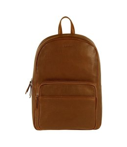 """Burkely Antique Avery Backpack round 14"""" cognac"""