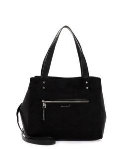 Emily & Noah Fabienne luxe dames-shopper zwart