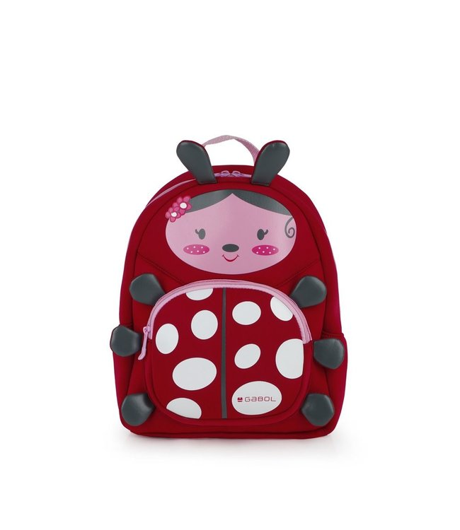 Gabol Puppet kinder-rugtasje ladybug