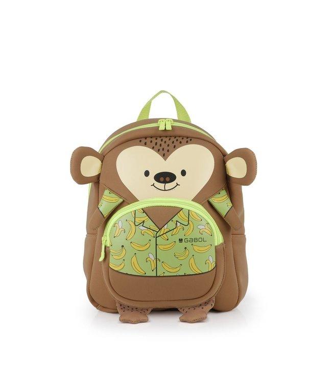 Gabol Puppet kinder-rugtasje aap