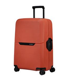 Samsonite Magnum Eco spinner 69cm reiskoffer maple orange