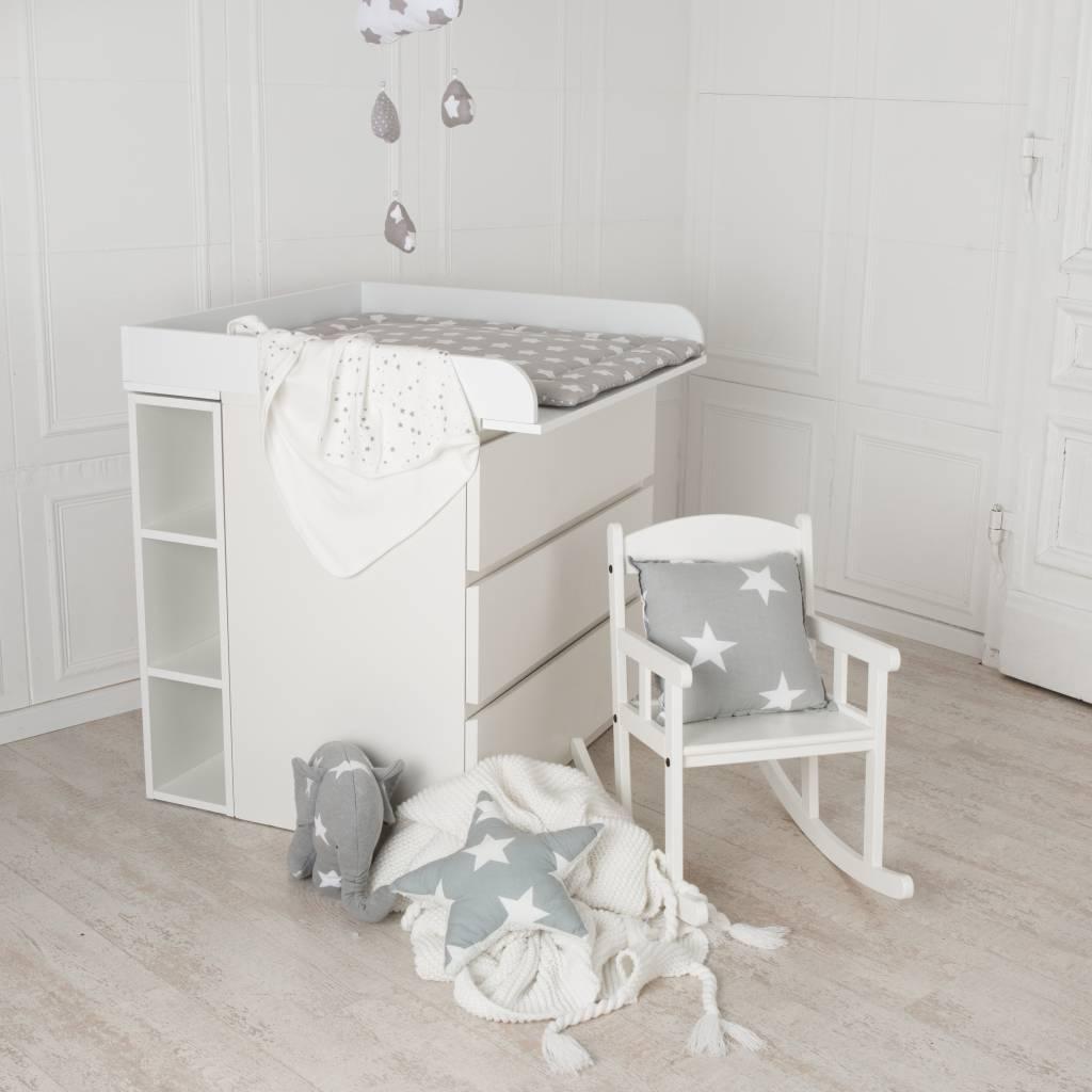 MALM Kommode Mit 3 Schubladen Weiß IKEA Avec 0640136 ...