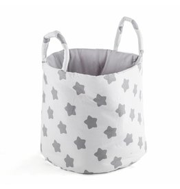 "Storage Basket ""Stars white"""