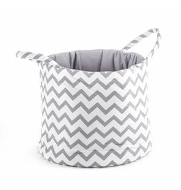 "Storage Basket ""Chevron white"""