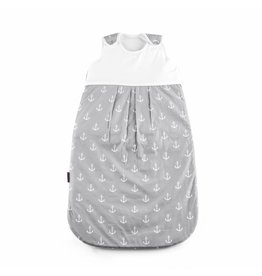 "Baby sleeping bag ""Ancre grey"" 90cm"