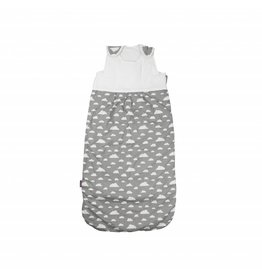 "Baby sleeping bag ""clouds grey"" 105 cm"