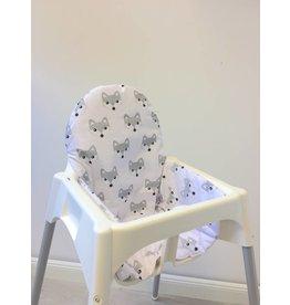 """Sitzkissen """"Füchse"""" für Ikea Antilop Hochstuhl"""
