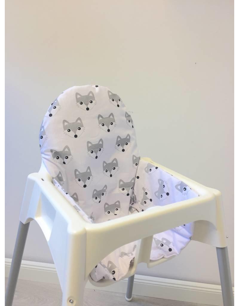 Puckdaddy Coussin Renards Pour Chaise Haute Antilop De IKEA